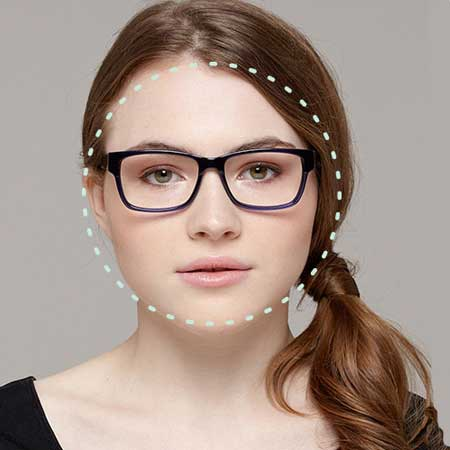 Round Face Shape Eyeglasses