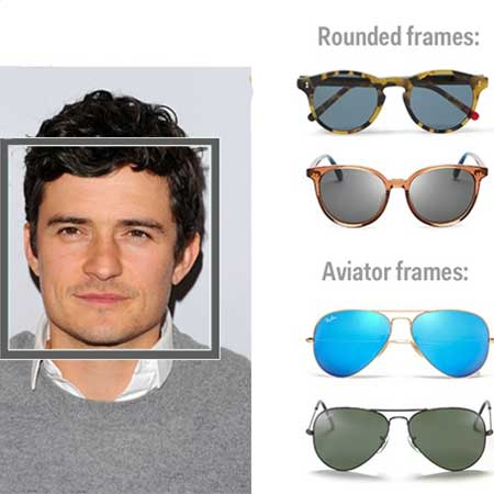 Square Shape Face Eyewear and Sunglasses