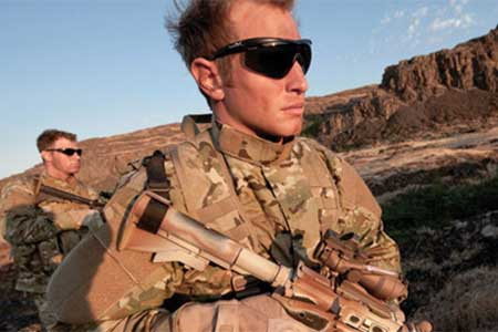 Wiley Ballistic Military Sunglasses