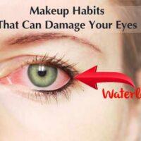 Makeup Causing Eye Damage
