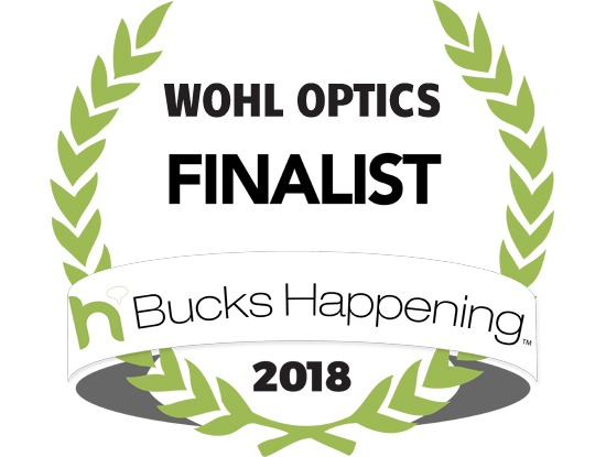 Bucks County Happening 2018 Optometrist Optician Finalist Wohl Optics