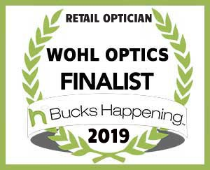 Award 2019 Bucks County Happening Finalist - Retail Optician