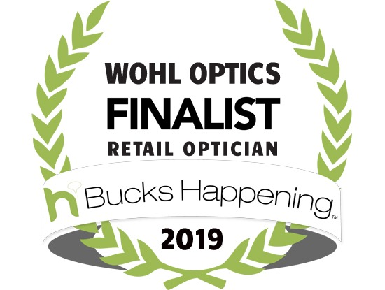 Bucks County Happening 2019 Optician Finalist Wohl Optics