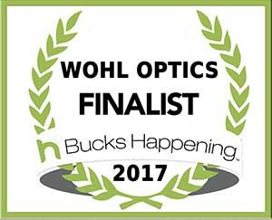 Award 2017  Bucks County Finalist  Wohl Optics