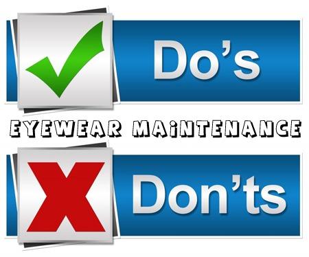 Eyewear Maintenance