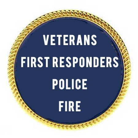 Hero Discounts for Veterans Police Fire First Responders