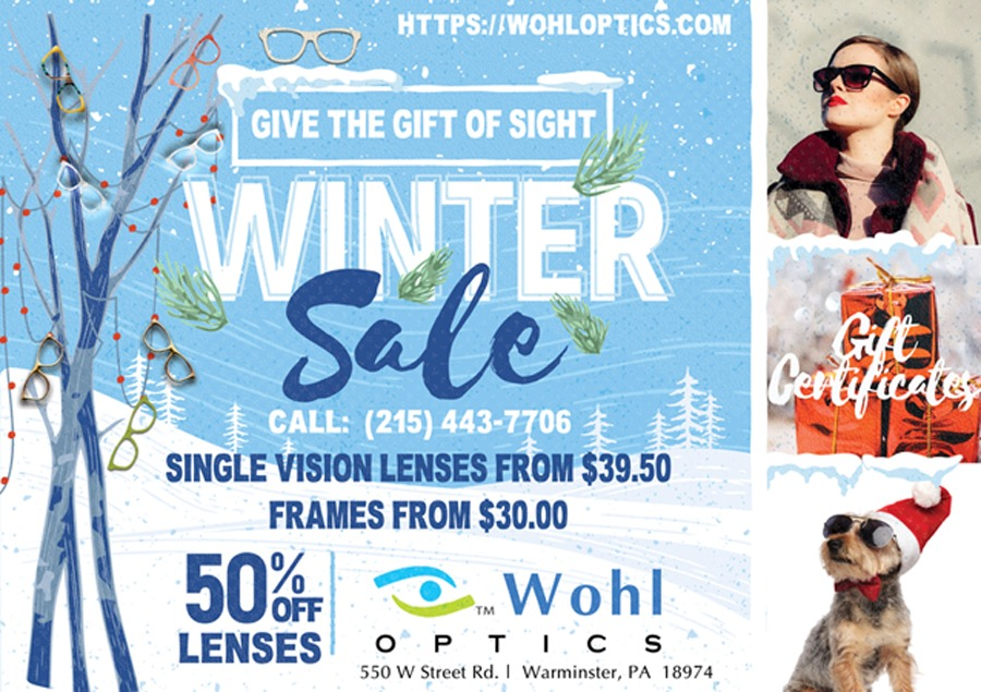 Winter Sale Deals 2018 Wohl Optics