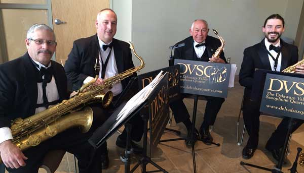 Delaware Valley Saxophone Quartet Bucks County PA