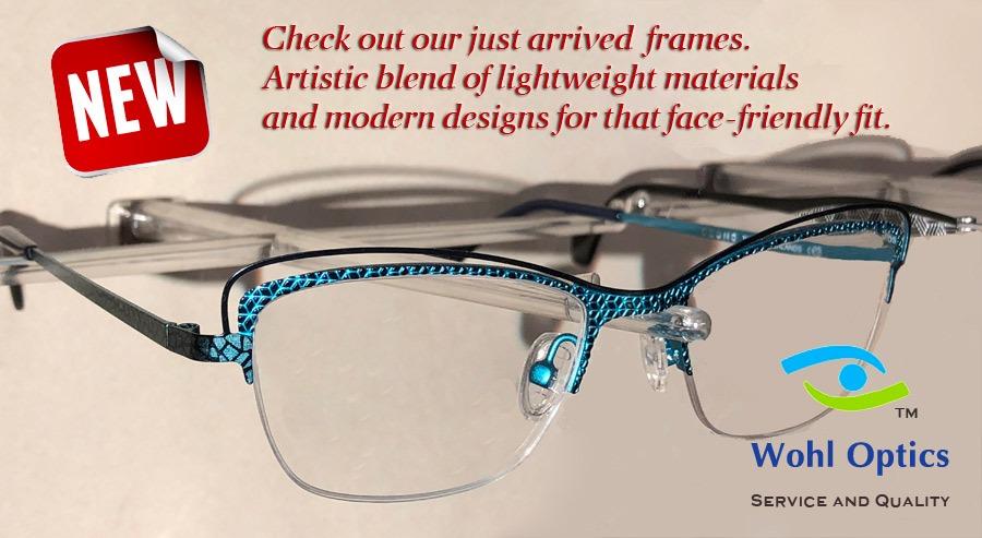 Lightweight Eyeglass Frame Materials